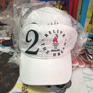 BRAND NEW 1996 Atlanta Olympics dad hats